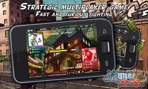 Android虚拟线上集换式卡片游戏《街头对抗》
