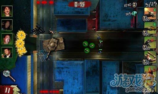 安卓射击游戏《传染 Infected》GLU巨作强势出击