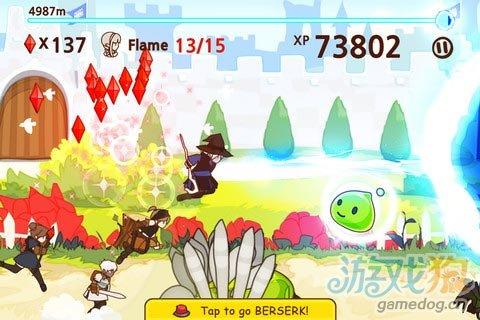 iOS最终幻想系列跑酷游戏《梦幻奔袭》敌人为你颤抖
