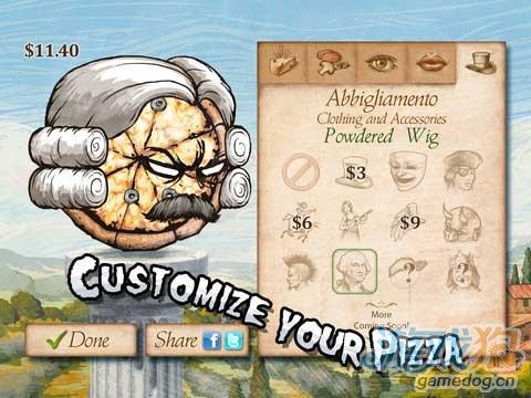 iOS无厘头恶搞游戏推荐《披萨大战骷髅》