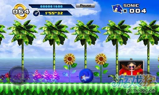 Android动作游戏《音速小子索尼克4:第一章》