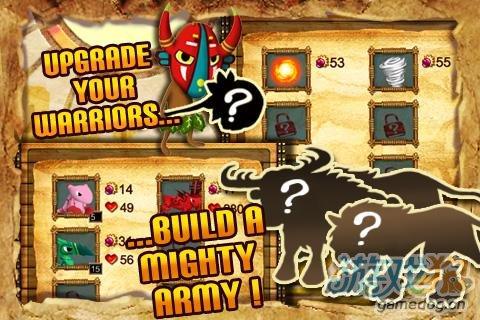 安卓游戏推荐《森林捍卫者》组建军队对抗机械人