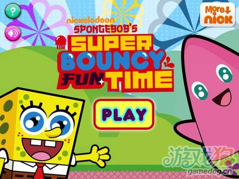 iPad益智休闲游戏《海绵宝宝的超级欢乐时光》评测