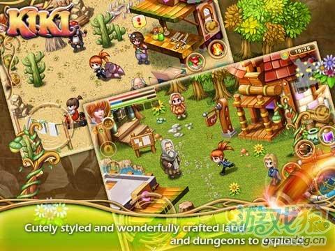 iOS动作RPG游戏《驯灵师琪琪HD》试玩评测