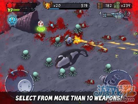 iOS动作射击游戏《怪兽射击》爱猫族的强势逆袭