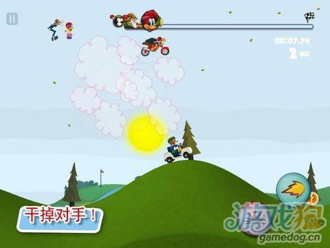 iOS横版竞速类游戏推荐《啄木鸟伍迪》