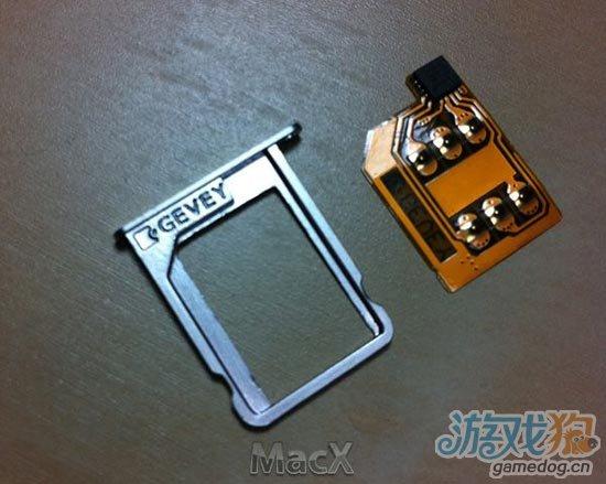 Gevey发布iPhone 4S全新SIM解锁卡贴