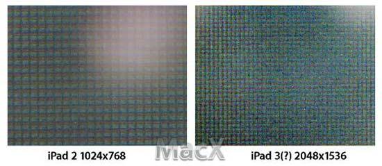 iFixit确认iPad 3将使用Retina显示屏