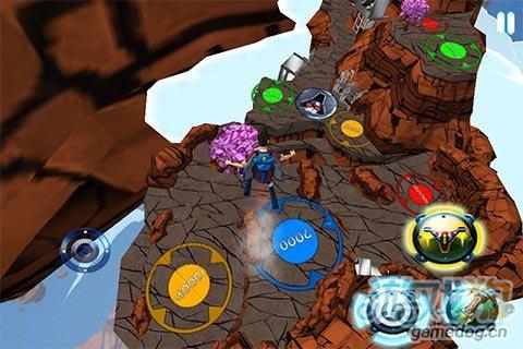 3D飞行探险游戏《飞行背包》实现翱翔蓝天体验酷感