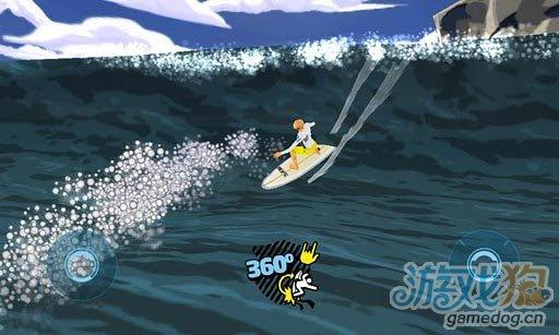 基于Unity平台开发的3D游戏《极限冲浪》Android版