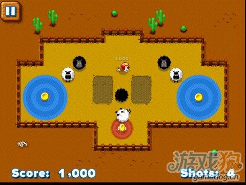 iOS益智休闲游戏《粘粘羊》卡通风打造迷你小农场