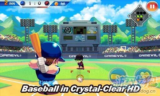 Android体育竞技游戏《超级棒球巨星2012》