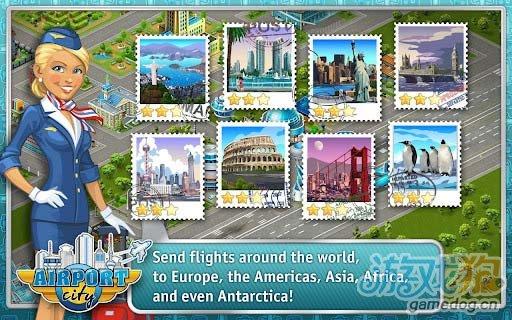 安卓模拟经营游戏《机场城市》经营一家自己的机场