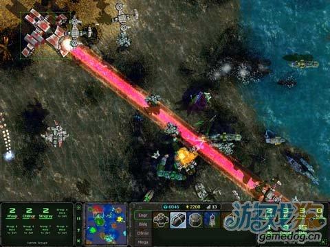 iPad即时战略游戏《陆海空战争》体验另类红警战争