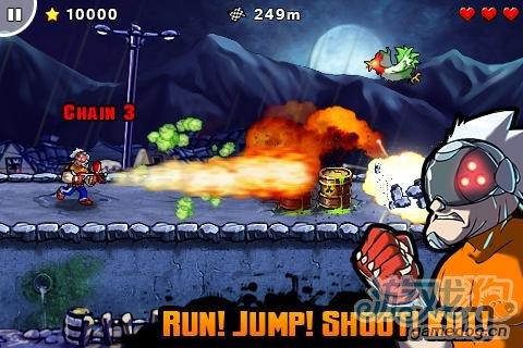Android版经典横版射击游戏《史诗大作战》