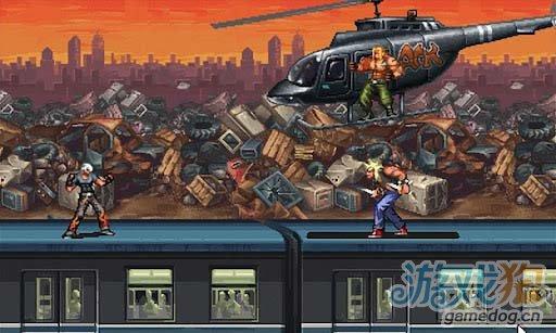 安卓平台动作格斗游戏《格斗之王2》为武士的尊严