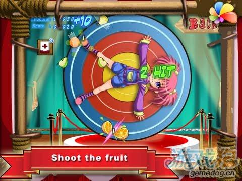 iPad有趣的飞镖类游戏《水果飞刀》高清版试玩评测