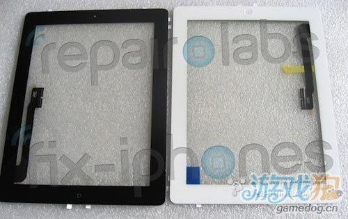 疑似新款iPad 3边框部件曝光 Home键不变