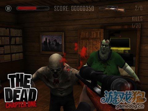 iOS动作第一人称射击游戏《亡灵僵尸》僵尸又来了