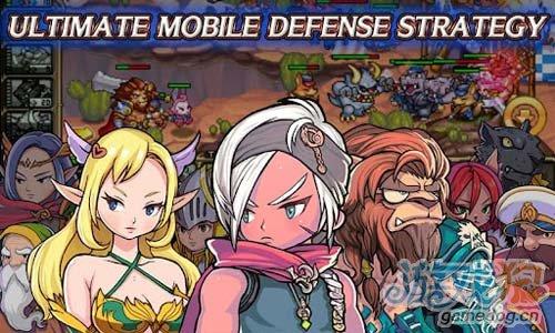 安卓游戏《亚特战争》RPG与防御策略类的完美结合