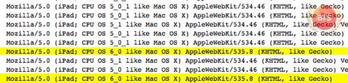 苹果测试搭载iOS 6 配Retina屏的iPad