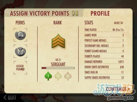 iOS经典塔防游戏《太平洋轰炸机防御战》