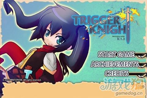 Android另类日系RPG游戏《触发骑士》独享软妹子