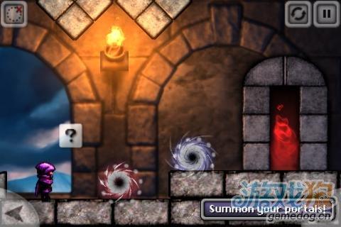 Android益智休闲游戏《魔法入口》在空间上的穿梭