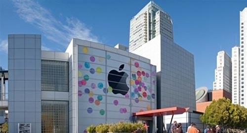 iPad 3发布会场Logo完工 一代iPad发布相似
