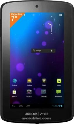 平板电脑第三代 爱可视Arnova G3系列平板将推出