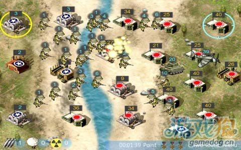 Android经典战略对攻游戏《二次世界大战》