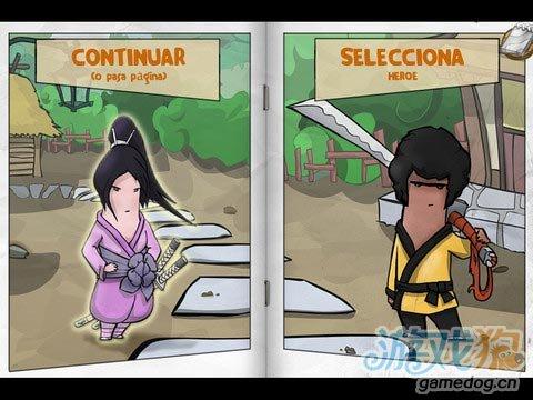 iOS横版日本武士跑酷游戏《忍者Kinito》休闲必备