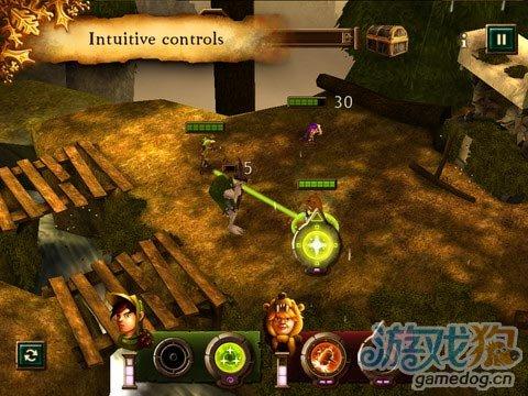 iOS策略RPG游戏:小孩对小怪 Kids vs Goblins