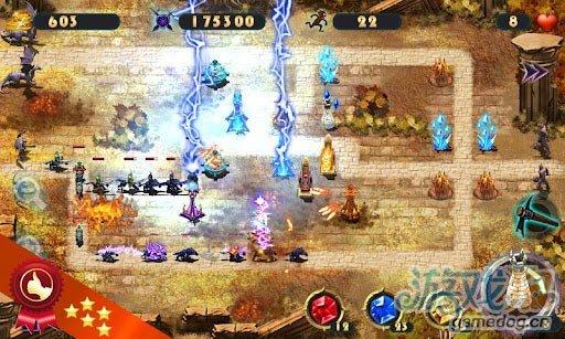 Android杀手级塔防游戏《史诗防御之元素》