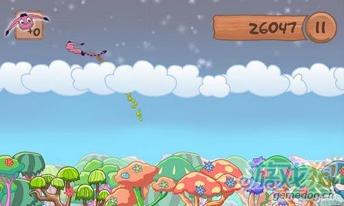安卓飞行游戏《飞天小怪》体验泰山式飞荡
