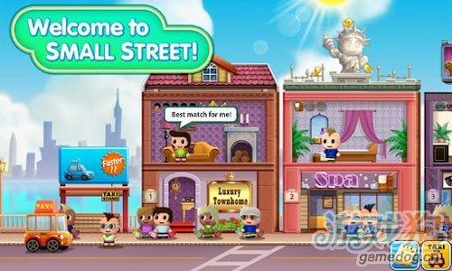 华丽时尚Android经营游戏《口袋商业街》