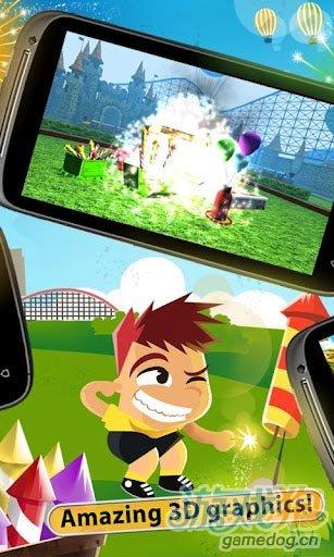 Android益智休闲游戏《爆破大师节日版》