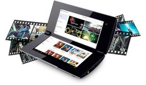 美国开售索尼双屏平板电脑Tablet P 4G版