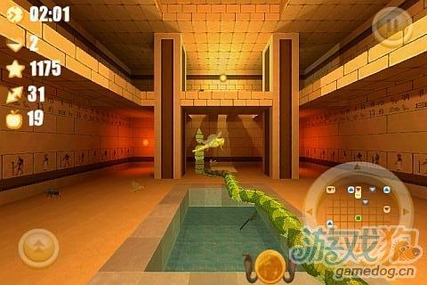 Android游戏《贪吃蛇3D复仇》全新视觉体验