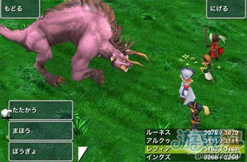 iOS移植《Final Fantasy III》Android版日本发布