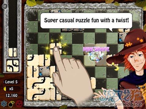 iOS连线益智休闲游戏《失落的方块》锻炼你大脑