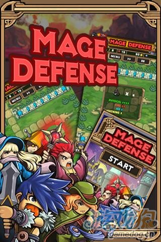 Android版经典塔防游戏《法师防御 Mage Defense》