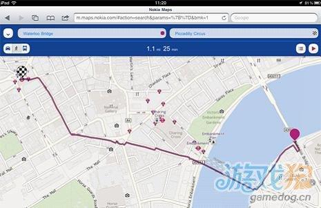 诺基亚地图获得Android和iOS语音导航功能