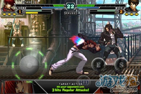 iPhone格斗游戏:拳皇 THE KING OF FIGHTERS-i 002