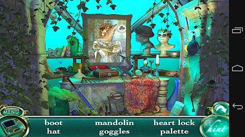 美女解谜游戏《深海女皇:黑暗的秘密》Android版