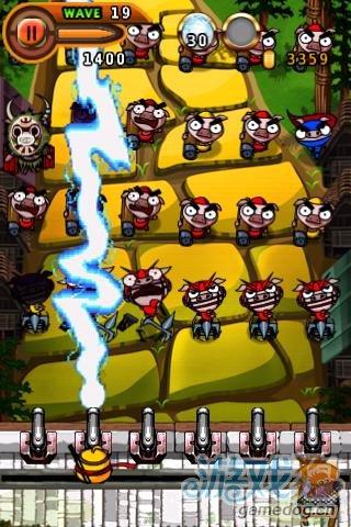 移植益智休闲防御小游戏《忍者胖鸡》登录Android
