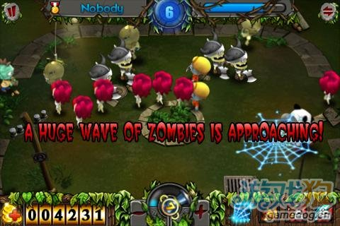 Android火爆射击游戏《僵尸猎人 Zombie Hunting》