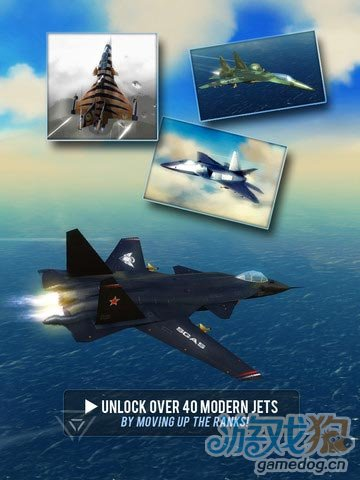 iOS飞行模拟游戏推荐《博弈云霄:制空权》