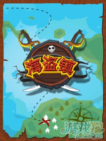 iPhone游戏海盗镇 山寨版Triple town