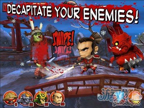 iOS塔防与RPG混搭新作《武士大战僵尸》
